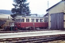 T 33 wartet in Neresheim auf seinen nächsten Einsatz, 1971