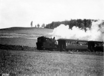 Einst: Lok WN 12 mit Herbrandwagen im Klosteracker