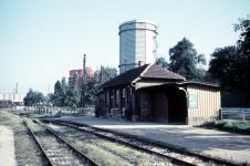 Aalen Pbf 1956: morgendliche Ruhe
