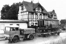 Ankunft des Gw 155 in Neresheim, 22. Juni 1985