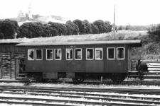 Brünigwagen WN 12 am 30. Juni 1960 in Neresheim
