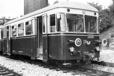 T 33 abfahrbereit in Aalen Pbf, 17. Juni (damals Feiertag) 1964