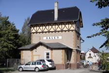 Empfangsgebäude Aalen Härtsfeldbahn-Güterbahnhof