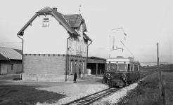T 30 im Bahnhof Dischingen, 4. Dezember 1966