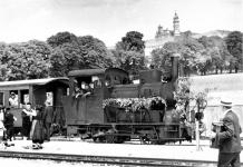 Aller-allerletzte Fahrt von Lok WN 12 am 26. Juni 1965, Neresheim