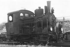 Lok WN 11 wurde als Dampfreserve bis Anfang der 1960er Jahre in Neresheim vorgehalten