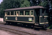 Herbrand-Wagen OEG 131 - heute HMB 5 - bei der Brohltalbahn um 1990