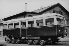 Auslieferung des TA 3 1955 durch die Firma Auwärter in Stuttgart-Möhringen