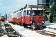 Aalen Pbf, 6. August 1972: T31 mit TA 101