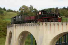 Auf der Brücke zum Härtsfeld