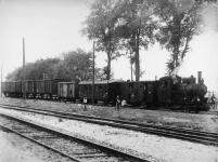 Lok WN 12 mit einem beachtlichem GmP in Dillingen, ca. 1930