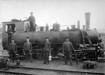 Die Härtsfeldbahner und ihre Lieblingslok, Mallet WN 3, um 1910