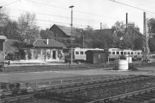 Aalen Pbf 1972: der Zug ist bald abgefahren