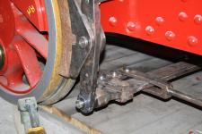 Februar 2012: die Bremseinrichtung ist angebaut